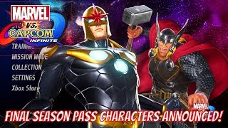 Marvel vs Capcom Infinite - Venom, Black Widow, Winter Soldier and Monster Hunter Announced as DLC