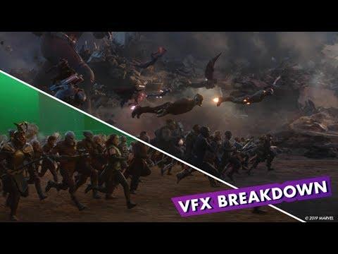 Avengers: Endgame | Final Battle VFX Breakdown