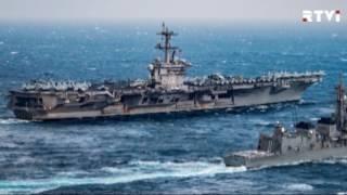 Пентагон  авианосец США «Карл Винсон» не направлялся к берегам Северной Кореи