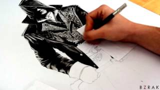 Speed Drawing - Assassin's Creed Syndicate/Jacob Frye
