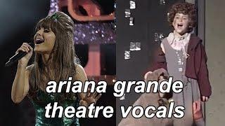 Ariana Grande 39 s Theatre Broadway Vocals Evolution