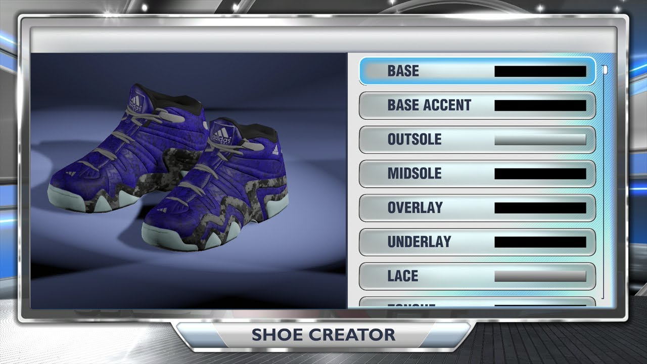 NBA 2K14 Next Gen Shoes - Adidas Crazy 8 Nightmare Before ...