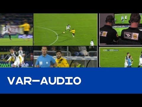 UNIEK | VAR-Audio bij overtreding Kali