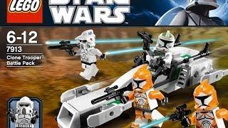 Обзор на лего звёздные войны Clone Trooper