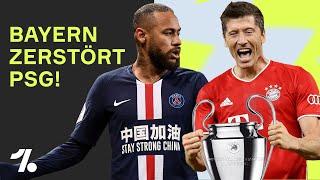 Kann der FC Bayern Neymar, Mbappé und Di Maria stoppen?