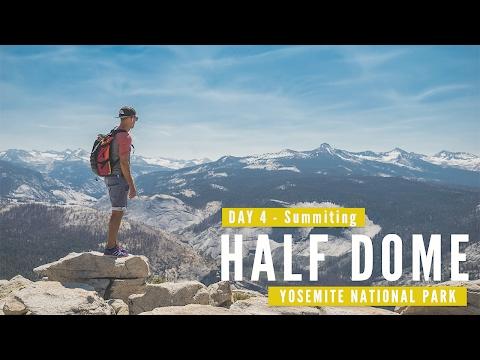 Travel Photography   Half Dome at Yosemite National Park