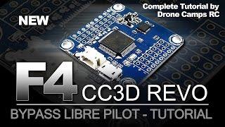 NEW F4 CC3D REVO Flight Controller - HOW to FLASH IT
