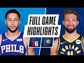 76ERS at PACERS | FULL GAME HIGHLIGHTS | December 18, 2020