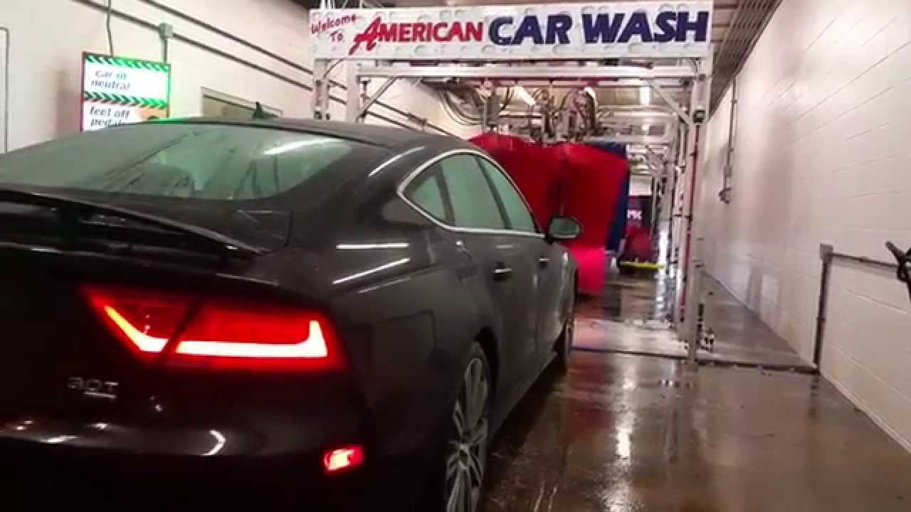 american car wash audi a7 youtube. Black Bedroom Furniture Sets. Home Design Ideas