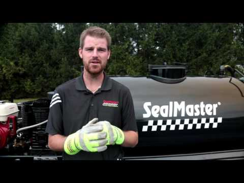 SprayMaster Seal Coating Trailer Unit | SealMaster Seal Coat Machines