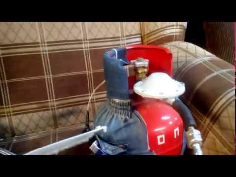 газовая плита к стандартному газовому баллону