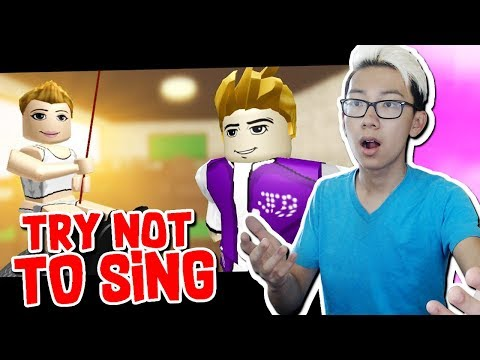 Try Not To Sing Along Roblox Challenge Youtube