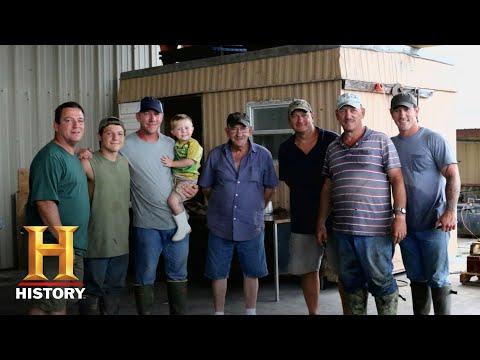 Swamp People: Alligator Garfish Hunt With The Landrys (Season 10) | History