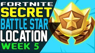 Fortnite SECRET BATTLE STAR WEEK 5 LOCATION Season 7 - Week 5 Loading Screen - Snowfall Challenges