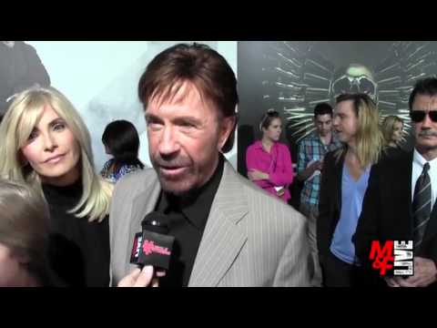"Chuck Norris - Age and workout - ""The Expendables 2"" Premiere in L.A. - 2012"