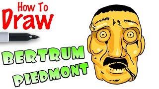 How to Draw Bertrum Piedmont | Bendy
