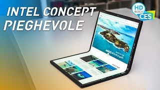 Intel Horseshoe Bend: il portatile CONCEPT con DISPLAY PIEGHEVOLE