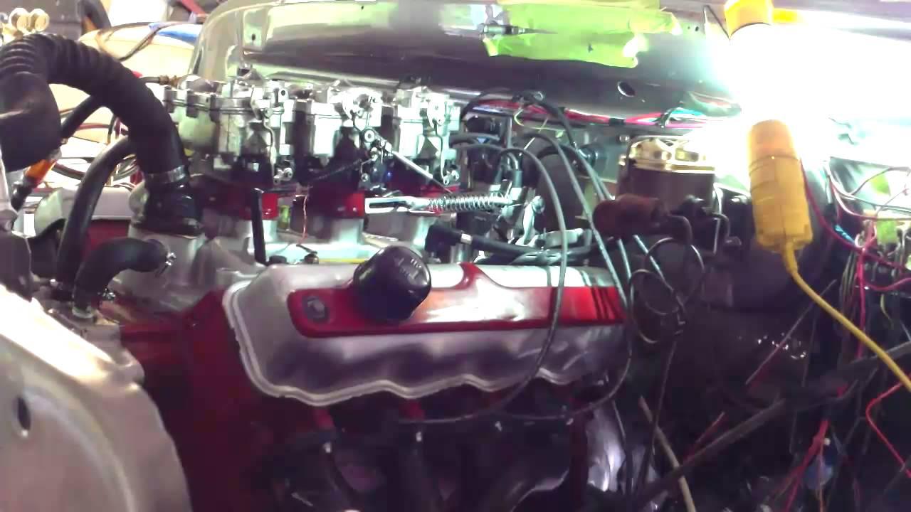 71 Dodge Power Wagon Rebuilt Poly 318 Start Up - YouTube