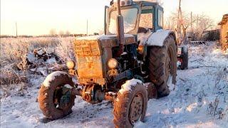 Трактор Т-40АМ блокировка.