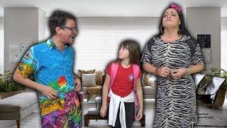 a famlia estranha do luccas e da gi the strange family of children
