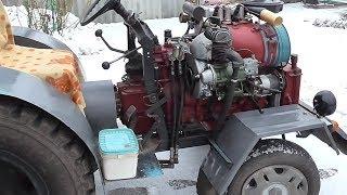 Самодельный трактор Т-25