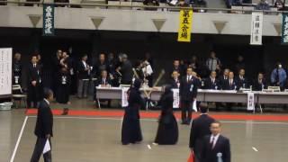 2017年 東京剣道祭 警視庁畠中対台東秋本
