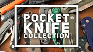 Every Day Carry Pocket Knife Collection Mid 2018