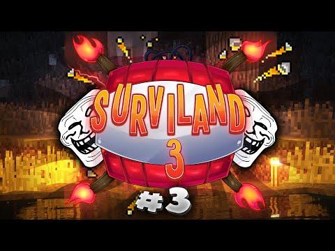 QUEMANDO SURVILAND 3 | Minecraft Serie Troll Ep. 3 | Hardy