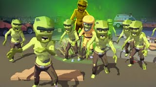 Zombie Blast Crew - Gameplay Walkthrough Part 14 - Kill Zombies Army ( ios, Android)