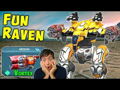 TROLL RAVEN Vortex Aphid Mk2 War Robots Gameplay - Gift From Above - WR