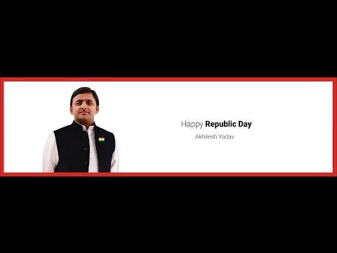 Republic Day Message - Akhilesh Yadav