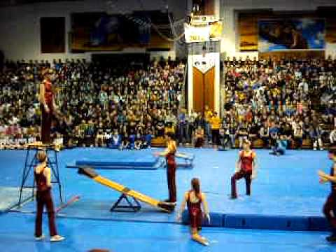 LTHS All-School Assembly Acrobats 2011