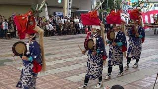 宇和津彦神社 秋季大祭 八鹿踊り お旅所にて 愛媛 宇和島 2014 10 29