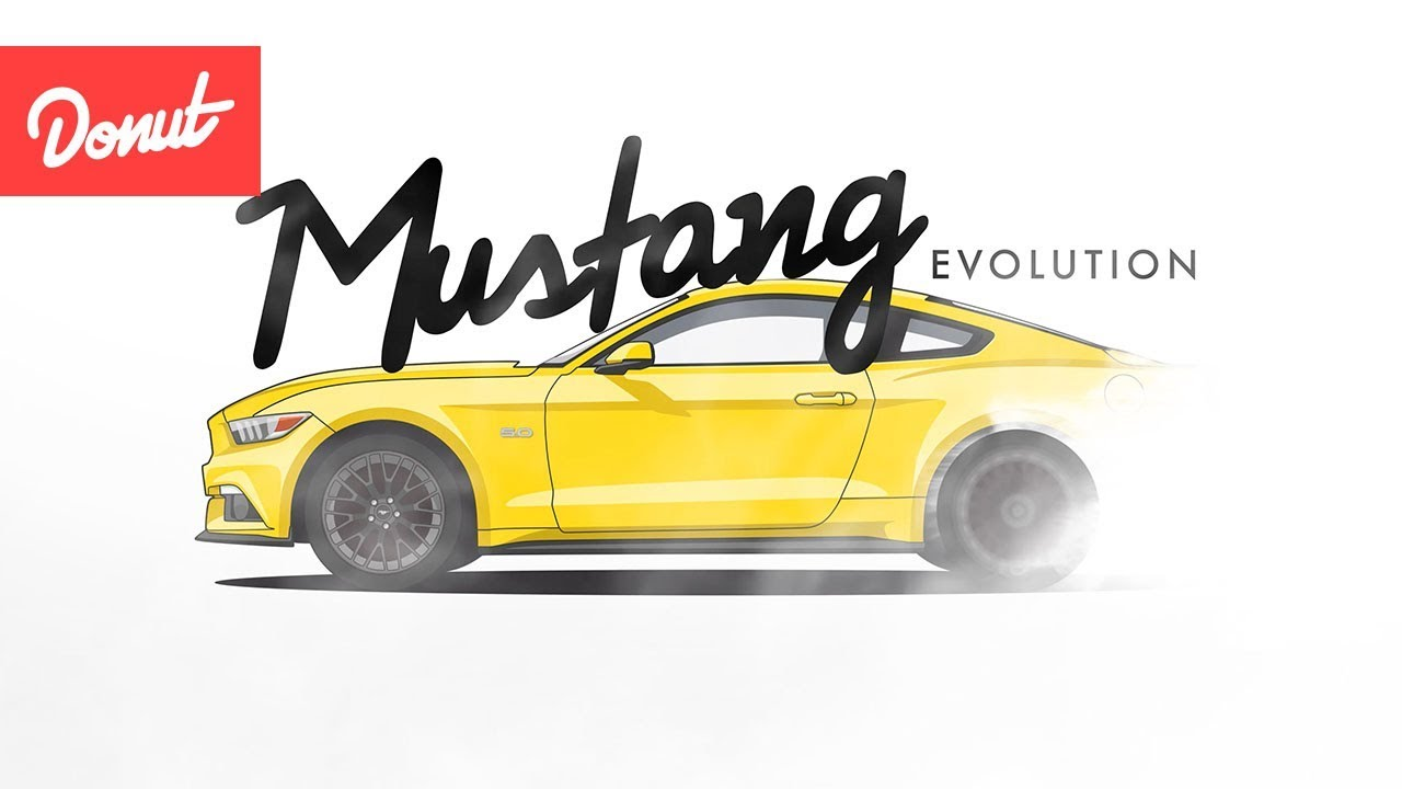 Evolution of the Ford Mustang | Donut Media