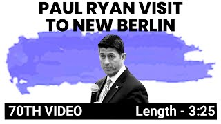 Paul Ryan at the School District of New Berlin