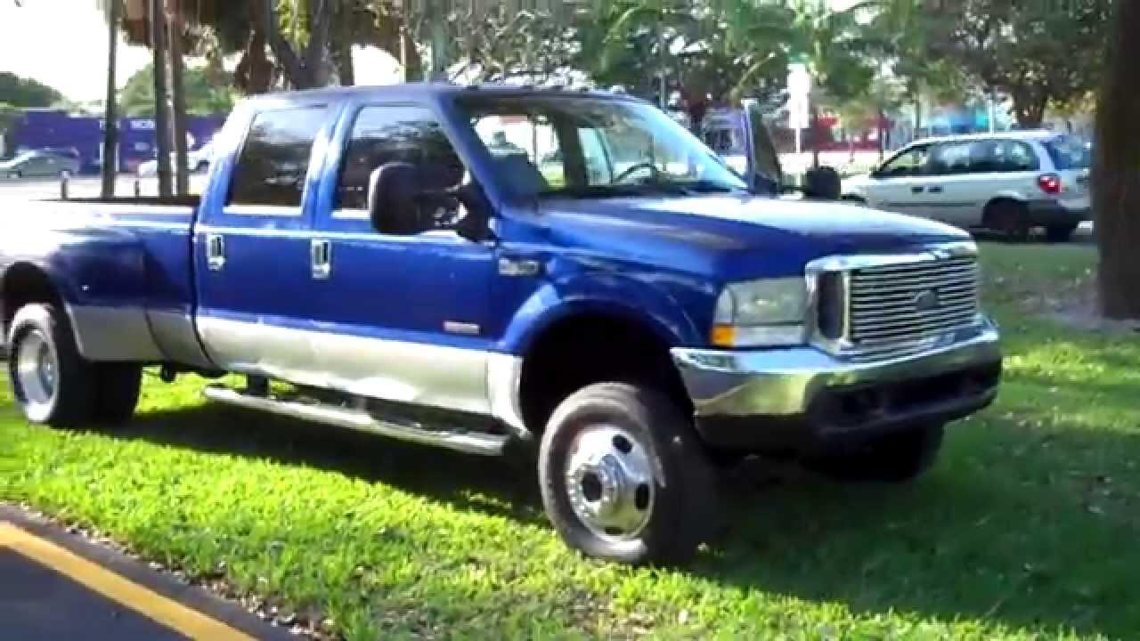 1999 ford f350 7 3l diesel dually 4x4 florida truck www bigboyhotrods com youtube