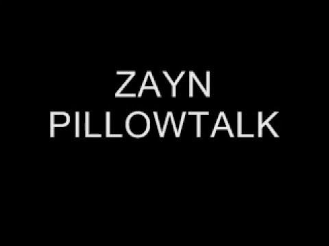 Zayn Malik - Pillow Talk Lyrics Video (fast tempo)
