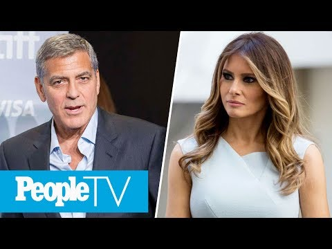 George Clooney Slams Harvey Weinstein, Melania Trump Calls Out Ivana Trump's Comments  PeopleTV