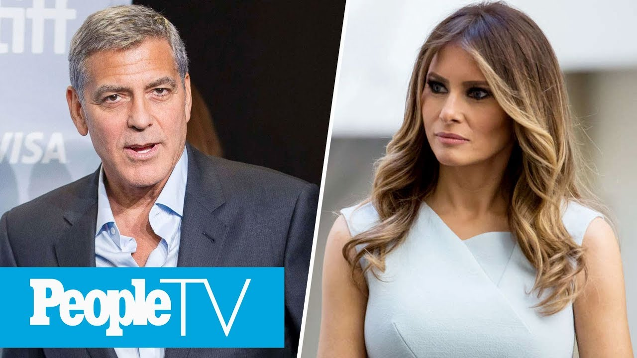 George Clooney Slams Harvey Weinstein, Melania Trump Calls Out Ivana Trump's Comments | PeopleTV