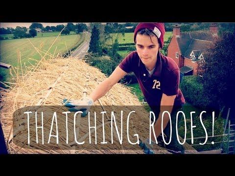 THATCHING ROOFS! | ThatcherJoe