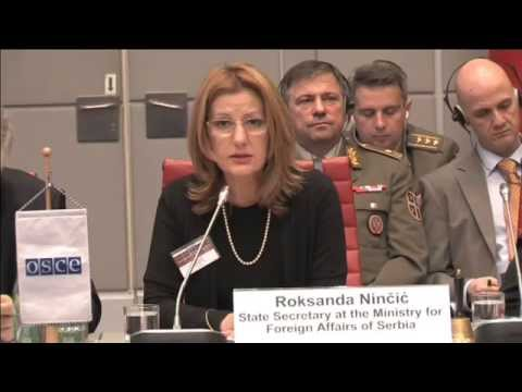 Address by Roksanda Ninčić, State Secretary of Serbia's Ministry of Foreign Affairs