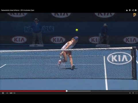 Agnieszka Radwanska's Brilliant Tennis | 2014 Australian Open
