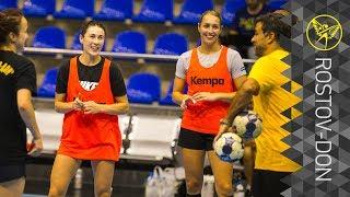 «Ростов-Дон» провел тренировку в Краснодаре