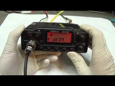 #49 Out of the box CB Radio Lab Test: Albrecht AE-6790