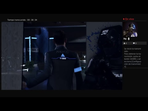 Canal Alejandro - LIVE - Mi reacción a Detroit become the human (demo)