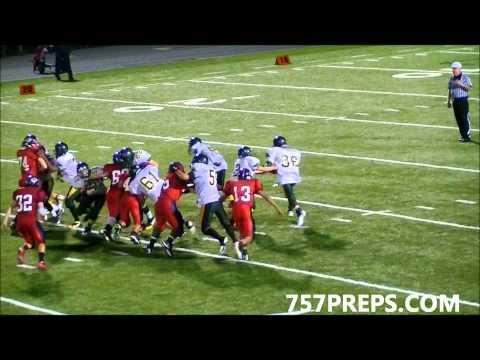 Bruton High (VA) vs Grafton High (VA) Bay Rivers District Football