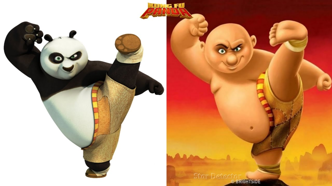 Download Kung Fu Panda Characters Reimagined As Humans