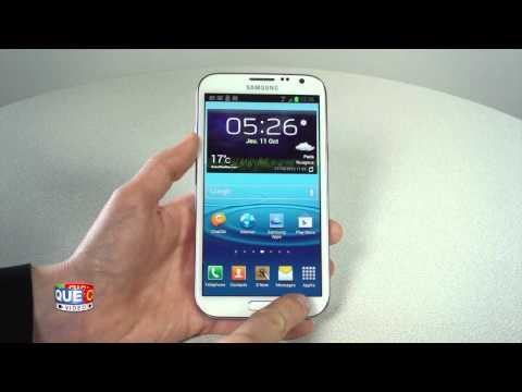 Samsung Galaxy Note 2 - Prise en main