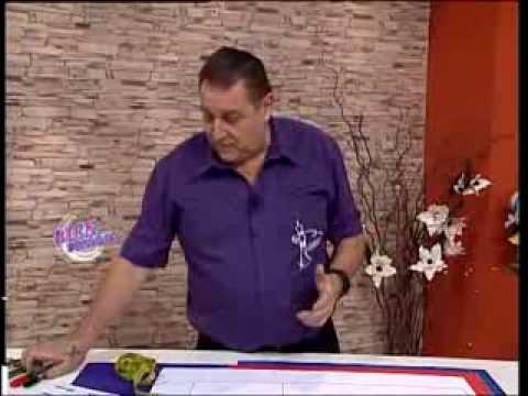 Hermenegildo Zampar - Bienvenidas TV - Explica el Molde base para Telas de Punto.