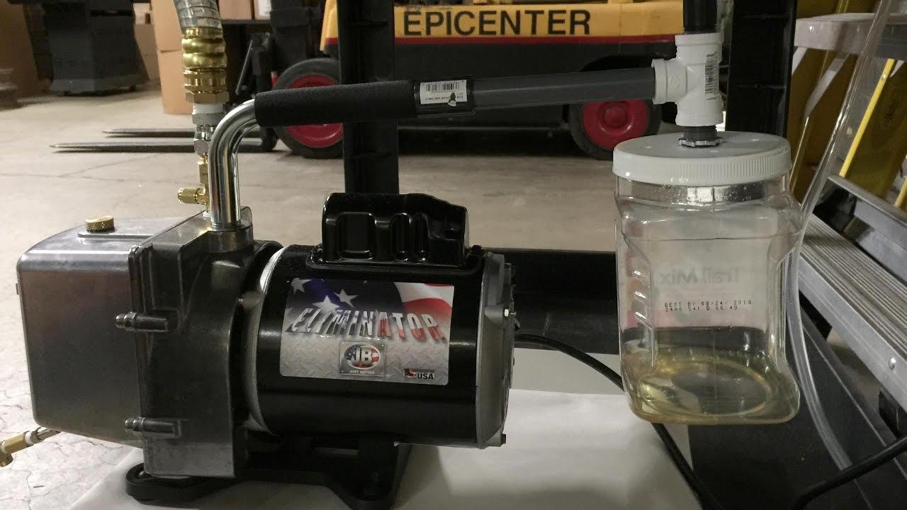 Diy Gunk Oil Catcher For Jb Industries Pump Harvest